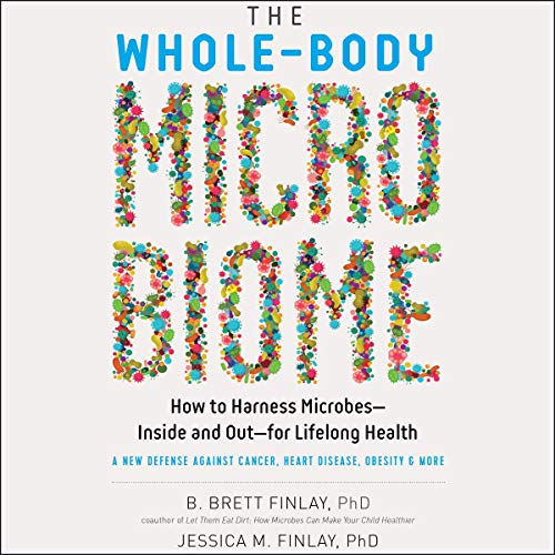 The Whole-Body Microbiome audiobook cover art