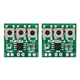 Music Module 2Pcs 36 Music Chip DIY Module Adjustable Volume for Smart Doorbell Musical Toy Accessory with Button