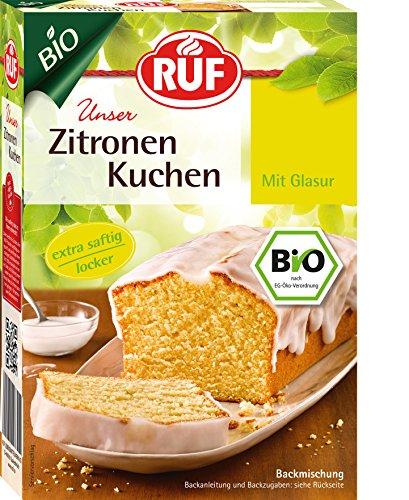 RUF Lebensmittelwerk Bio Zitronenkuchen, 4er Pack (4 x 475 g)