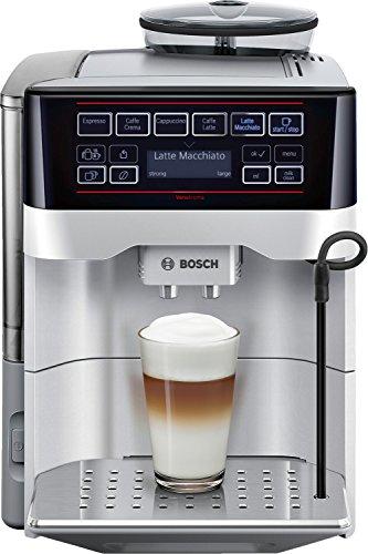 Bosch TES60321RW Volautomatische espressomachine, 15 bar druk, 1,7 l tank, 5 koffiesoorten