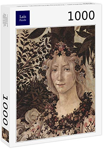 Lais Puzzle Sandro Botticelli - Primavera (Primavera), Detalle: Flora 1000 Piezas