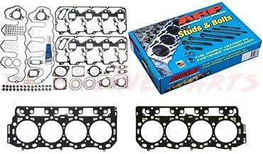 ARP Stud Kit w/Mahle Head Gasket Set & Grade 'C' Head Gaskets - Duramax LLY LBZ 6.6