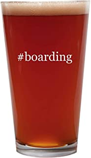 #boarding - 16oz Beer Pint Glass Cup