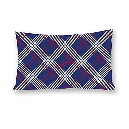 VinMea Fundas de almohada lumbar, de algodón, para sofá, hogar, oficina, decoración, 50 x 60 cm