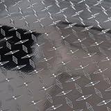 Diamond Plate Film Vinyl Sheet Roll Simple Curve Wrap - 24' x 72' Diamond Plate