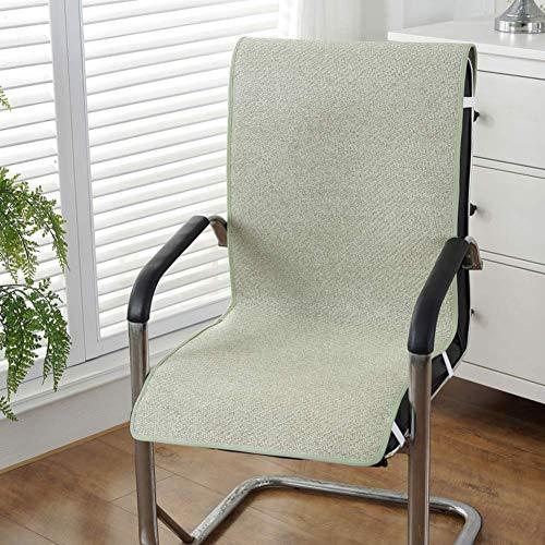 YLCJ ademend zitkussen voor stoel, antislip, voor de zomer, verlichting van pijn bij lage rug en bureaustoel, Ischias, Auto-M 45 x 135 cm (18 x 53 inch)