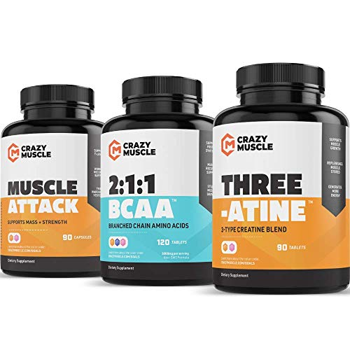 Get Stronger with Creatine, BCAA and Muscle Attack