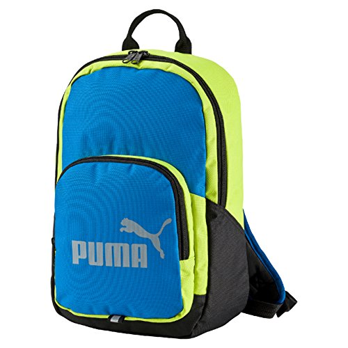 Puma Sports Phase Rucksack 35 cm electric blue lemonade-limepunch