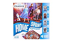 FROZEN 2 game for kids FUN with 4x Frozen 2 figurines Elsa, Anna, Olaf and Sven FAMILY FRIENDLY fun for all ages from 4 years old upwards for 2-4 players GREAT CHRISTMAS or birthday gift for kids QUALITY GUARANTEED made from premium grade materials b...