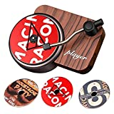 BKN® Tranding Record Player Car Air Freshener Aromatherapy Air Outlet Aroma Car Perfume Diffuser...