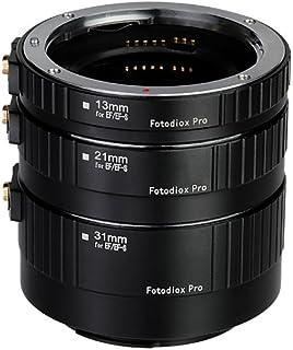 Fotodiox Pro Canon EOS Auto Macro Extension Tube Set Kit for Extreme Close-Up with Autofocus and Auto-Exposure
