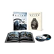 Alien: Covenant Limited Edition - With 36 Page Book Packaging - Includes Photos And Sketches (Blu-ray + DVD + Digital)