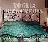 Copriletto trapuntato granfoulard bassetti matrimoniale 100% cotone raffaello 3