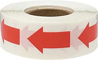 Color Coding Arrow Labels Red for Organizing Inventory 1 x 5/8 Inch 500 Total Adhesive Stickers