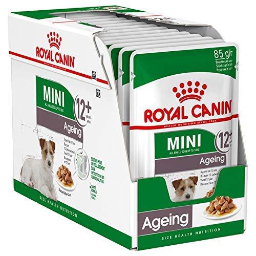 Royal Canine Senior Mini Pouch Caja 12X85Gr 1000 g ⭐