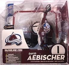 McFarlane Toys NHL Sports Picks Series 10 Action Figure David Aebischer (Colorado Avalanche) White Jersey Variant