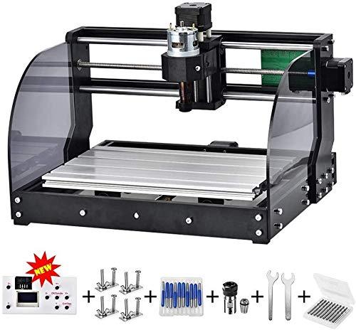 Vogvigo CNC 3018pro-M DIY Mini Máquina CNC, Fresadora de Madera Grabado Láser Fresadora para Metal 3 ejes pcb Fresadora Fresadora de Madera Grabado Láser