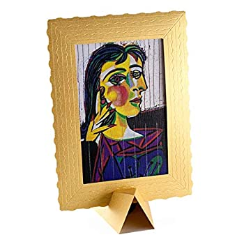 Greeting Card Drawing Art Wishes - Birthday card Presents Gift - 4x6 Vintage card - 3-d Art cards BANKSY Framed – greeting card with Holder  Dora Maar