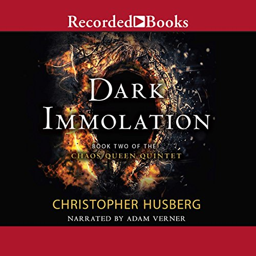 Dark Immolation audiobook cover art