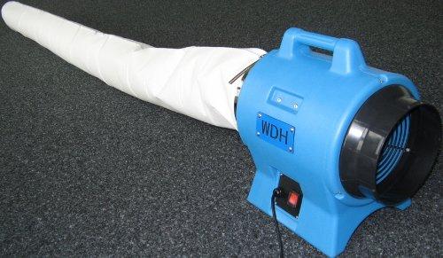 WDH Staubfangsack Filterklasse M (Ø 30cm) 100 Liter Inhalt - Universal für 30cm Anschlussgröße