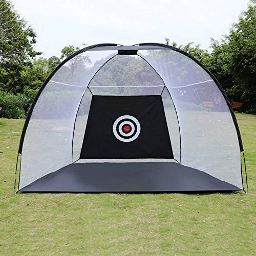 Joy-Beau 2/3 m Golf Cage Übungsnetz Training Indoor Outdoor Sport Golf Trainingsgeräte Garten