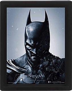 "10""x 8"" Batman Arkham 3d Lenticular Poster"