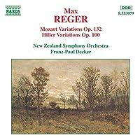 Mozart Variations / Hiller Variations