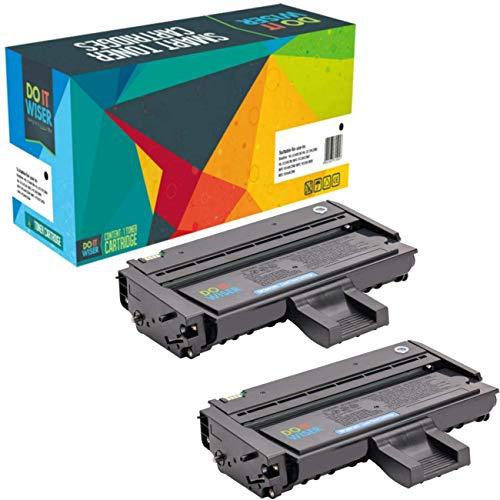 Do it Wiser Kompatible Toner als Ersatz für Ricoh SP 211 SP 213W SP 211SU SP 201 SP 213SUW SP 204SFN SP 204 SP 200 SP 203 SP 210 SP 212 (Schwarz, 2er-Pack)