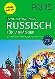 PONS Power-Sprachkurs Russisch für Anfänger: Lernen Sie Russisch mit Buch