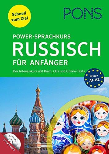 PONS Power-Sprachkurs Russisch für Anfänger: Lernen Sie Russisch mit Buch, Audio+MP3-CDs und Online-Tests: Der Intensivkurs mit Buch, CDs und Online-Tests