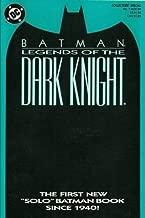 BATMAN LEGENDS OF THE DARK KNIGHT NO 1  NOV 1989