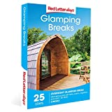 Red Letter Days Glamping Breaks Gift Voucher – choose from over 25 glamorous camping, yurt, pod and wigwam experiences at locations across the UK