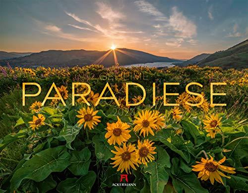 Geheime Paradiese 2020, Wandkalender im Querformat (54x42 cm) - Landschaftskalender / Naturkalender mit Monatskalendarium