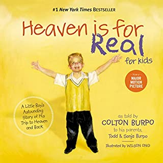 Heaven Is for Real for Kids audiobook cover art