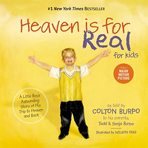 Heaven Is for Real for Kids cover art