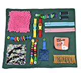 Fidget Blanket for Adults with Dementia Memory Loss Sensory Pad with Activities for Anxiety Relief Alzheimer's Therapy Aid Toys