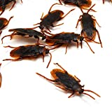 Fake Plastic Roach Cockroach Insects Joke Toys Prank Scary Trick Bugs for Party