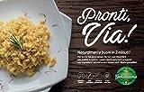 Risotto Carnaroli allo Zafferano Gourmet - Piatto pronto in 2 minuti microonde o in padell...