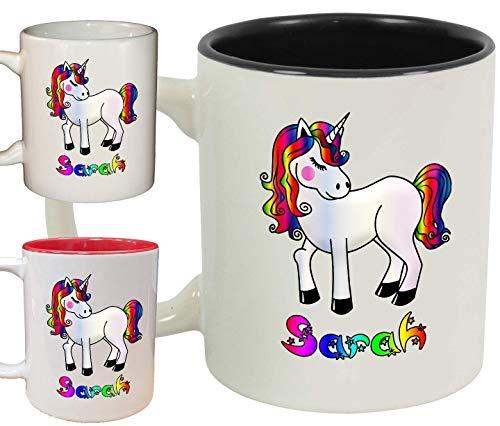 Unicorn Personalised Name Ceramic Mug/Cup 11oz Dishwasher & Microwave safe