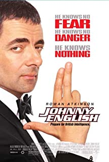 Johnny English Movie Poster (27 x 40 Inches - 69cm x 102cm) (2003) -(Rowan Atkinson)(Tasha de Vasconcelos)(Ben Miller)(Greg Wise)(Douglas McFerran)(Steve Nicolson)
