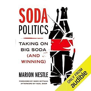 Soda Politics audiobook cover art