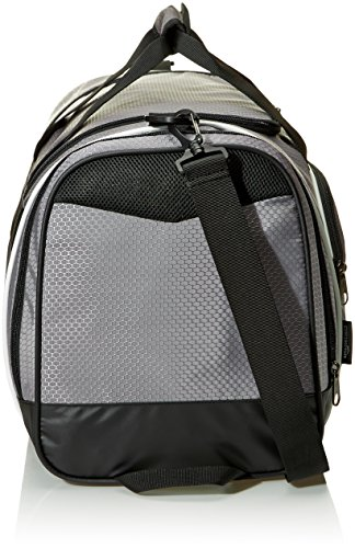 AmazonBasics Medium Lightweight Durable Sports Duffel Gym and Overnight Travel Bag - Grey New Jersey