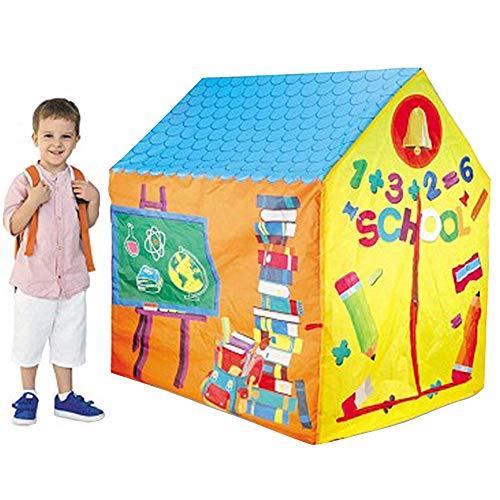 ZRZJBX Tienda CampañA Infantil - Carpas para NiñOs Casa De Juegos para NiñOs NiñAs Jugando Castillo Interior CumpleañOs Al Aire Libre,C