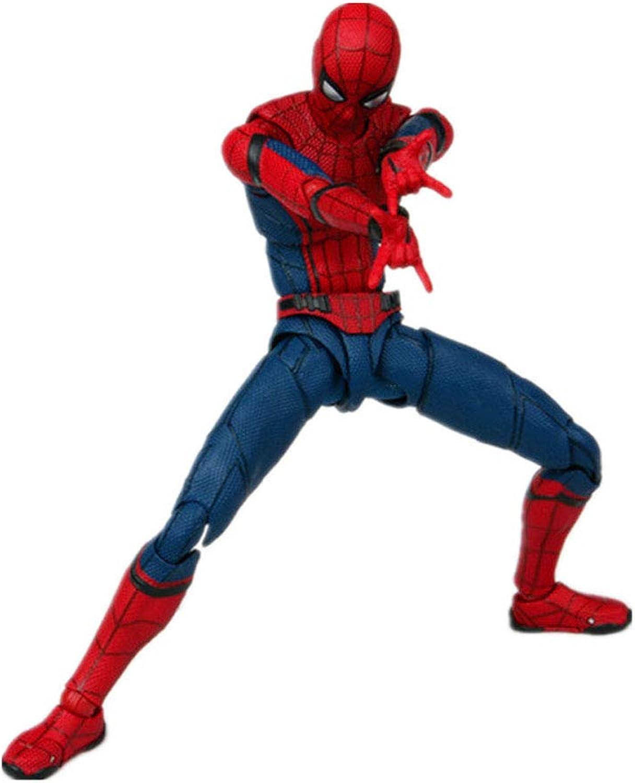 tiempo libre Mmhot Spider-Man Puede Hacer una versión Mejorada del del del Modelo holandés de Regalo de la Guerra Civil de Brojoher Avengers de Juguete 16cm  tienda de descuento