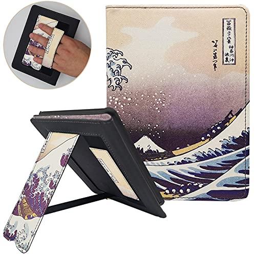 Funda para Libro electrónico, 1pc Case para Todo-Nuevo Kindle (Lanzamiento de 10ª generación 2019) PU CUBIERTE DE Cuero con Auto Sleep/Wake Modelo J9G29R (Color : Surfing)