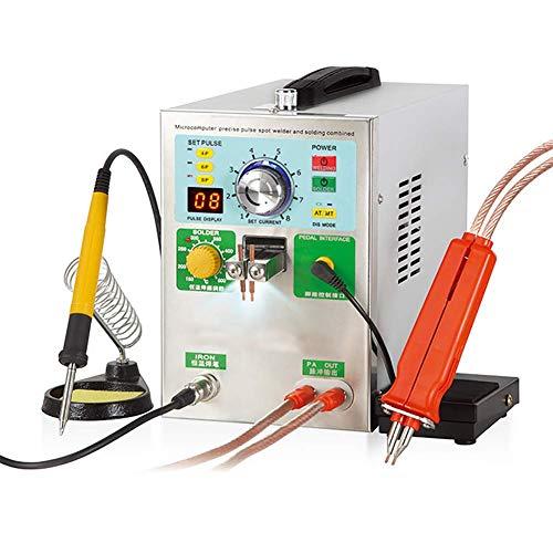 D&F 4 en 1 Soudeuse de Points de Batterie,709AD 220V 3.2kw LED Soudeuse de Batterie à Impulsion avec Stylo de soudage