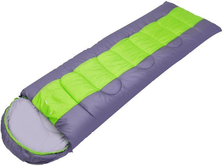Camping Schlafsäcke, desert fox - serie von outdoor - camping schlafsäcke können gespleißt picknick fahren erwachsene umschlag im schlafsack im frühjahr und winter schlafsäcke mit schlafsack ,Schlafsack ( Farbe   Grün Fruit