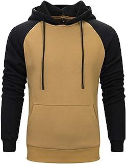 BBestseller-Chaqueta de hombre, BBestseller Tendencia de Moda Hoodie Sweatshirt Casual Sudaderas con Capucha para Hombre Manga Larga Chaqueta Pullover Couple Sweater Outwear Tops