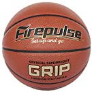 FIREPULSE Grip Basketball/Official Size 7(29.5'')/Indoor&Outdoor Composite Leather Game Basketballs