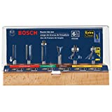 Best Router Bit Sets - Bosch RBS006 1/4-Inch Shank Carbide-Tipped Multi-Purpose Router Bit Review